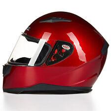 DOT Full Face Motorcycle Helmet JKN with 2 Visors Matte Black M L XL+Neck Scarf