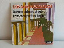 LOS MACHUCAMBOS Cuando calienta el sol 86551