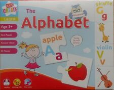 Children's learn fun with letters kids Alphabet Jigsaw Puzzle 52 Pieces 3yrs+