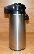 Aladdin Glass-Lines Vacuum Insulated Stainless Steel Hot / Cold Pump Pot Thermos
