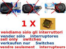1x tasto switch interruttore ricambio cover guscio RENAULT MEGANE CLIO LAGUNA 1T