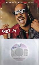 MICHAEL JACKSON STEVIE WONDER  Get It  rare promo 45 with PicSleeve