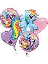 My Little Pony Mylar Balloon Bouquet Birthday Decorations Party Favors Supplies