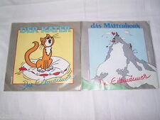 """2 x 7"""" - Die Eilemänner / Das Matterhorn & Der Kater # 2405"""