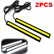 2x Super Bright COB White Car LED Lights 12V for DRL Fog Driving Lamp Ornate