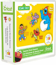 CRICUT *SESAME STREET SEASONS* CARTRIDGE *NEW* ELMO BIG BIRD ZOE COOKIE MONSTER