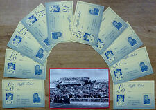 SOUTHAMPTON FC Saints 30th Anniversary of F.A.Cup Victory, TEN Raffle tickets.