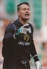 ASTON VILLA: SHAY GIVEN SIGNED 6x4 ACTION PHOTO+COA