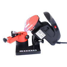 Goplus Portable Electric Chainsaw Sharpener Chain Blade Grinder 7500 RPM HD New
