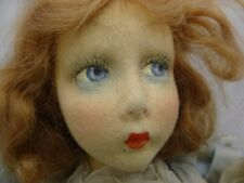 "Rare 24"" Lenci Boudoir Doll, All Original, Strawberry Red Hair, Some TLC"