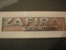 GENUINE NEW VAUXHALL ZAFIRA TOURER BADGE OPEL EMBLEM 2011+ C 1.4 TURBO ECO FLEX