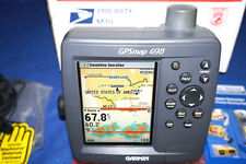 Garmin GPSMAP 498 GPS Marine Receiver Chartplotter 498c Fishing Boating Sounder