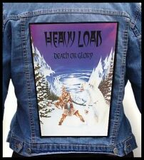 HEAVY LOAD - Death or Glory   --- Giant Backpatch Back Patch