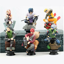 6pcs/set Naruto Action Figure Doll Anime Toys Collection for Boys