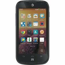 Mint Usde ZTE  Z830 Compel AT&T Android Smartphone 4 Inch WIFI Black Camera