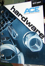 ACE ELECTRIC COMPANY HARDWARE CT-451 CATALOG