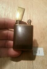 Old lighter fever Xmas gift OL1~ ww2 trent art lift arm brown plaque serviced