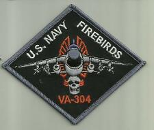 VA-304 FIREBIRDS U.S.NAVY PATCH WAR COMBAT FIGHTER JET PILOT AIRCRAFT AVIATOR