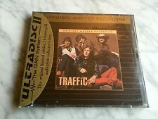 Traffic By Traffic Self Title Gold CD MFSL SEALED! 24Kt Disc Mobile Fidelity OMR