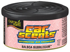 Aromas de California Home Car orgánicos ambientador Freshner Tin-Balboa Chicle