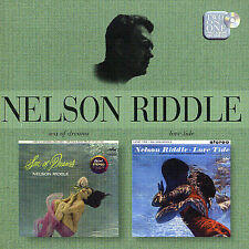 Sea of Dreams/Love Tide by Nelson Riddle (CD, Mar-2004, EMI)