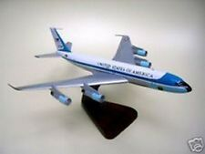 B-707 Boeing VC-137 Air Force One Airplane Dried Wood Model Small New