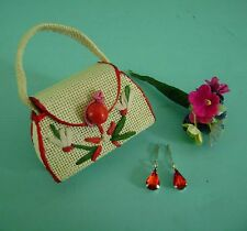 Vintage Doll Purse & Jewelry Madame Alexander Cissy Elise Vogue Jill Miss Revlon