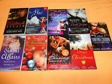 9 Mills and Boon -BULK BOOKS - 29 STORIES - SMALL PB BOOKS ******
