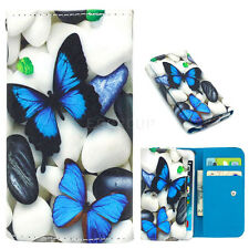 For LG Tribute HD Universal Cute Printing PU Leather Wallet Pouch Bag Case Cover