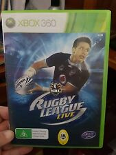 NRL Rugby League Live -  Microsoft  XBOX 360 - FREE POST
