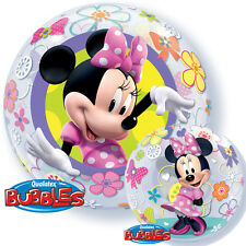 Minnie Mouse Bow-Tique Bubble Balloon Birthday Party Decoration Supplies