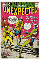 TALES OF THE UNEXPECTED #64 (DC 1960, fn 6.0) guide value: $48.00 (£31.00)