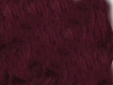 Burgandy Plain Faux Fur Fabric Short Hair 150cm Wide  SOLD BY THE METRE