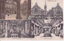 Lot 4 cartes postales anciennes FECAMP la bénédictine
