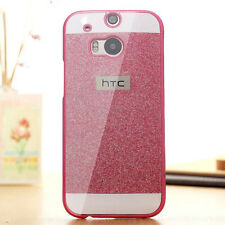 New Luxury Bling Glitter PC Hard Back Case Cover Skin For HTC One M7 M8 M9 A9