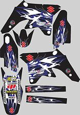 2001-2002 Suzuki RM125 RM250 RM 125 250 Graphics Decal fender shrouds Stickers