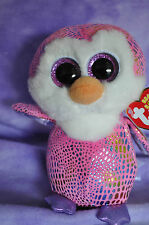 """TY 2014 Justice Exclusive Patty  Penguin Beanie Boo  Boo's  6"""" ~NWNMT~ VHTF  #63"""