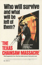 The Texas Chainsaw Massacre Original Movie Cinema Art Poster Postcard