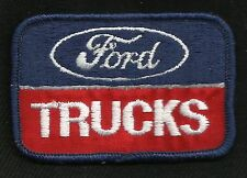 VINTAGE Ford TRUCKS Automotive Collectors Patch - New Old Stock