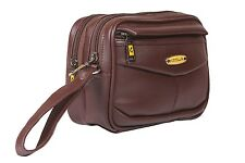 Cash Pouch/ Money Carrying Pouch/ Multipurpose travel Pouch Foam Leather