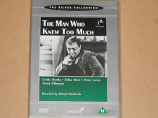 The Man Who Knew Too Much - (Leslie Banks, Edna Best, Alfred Hitchcock) DVD