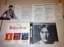 The Beatles 2002 The Very Best Of John Lennon Taiwan Deluxe 20 Track Promo 2 CD