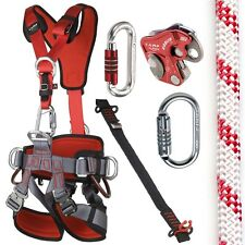 CAMP GT ANSI Fullbody Fall Arrest Rope Access Kit with 150ft ANSI Rope SM to LG