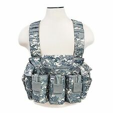 NcSTAR Digital Tactical 6 Magazine Pouch 7.62x39 Hunting Chest Rig Vest Harness