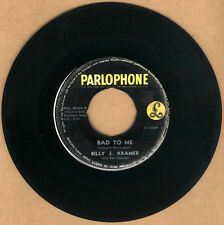 "PHILIPPINES:BILLY J.KRAMER & THE DAKOTAS - Bad To Me,7"" 45 RPM,Record,BEATLES"