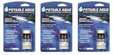 ''POTABLE AQUA'' WATER PURIFICATION-3 bott 150 Tablets