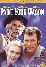 PAINT YOUR WAGON with Lee Marvin ,Clint Eastwood  ,Jean Seberg  REG 2 PAL DVD