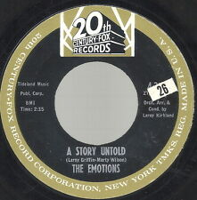 Doowop Group - Emotions on 20th Century Fox -A Story Untold
