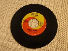SONNY JAMES JUST ASK YOUR HEART/TRU LOVE'S A BLESSING CAPITOL 5536