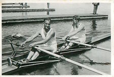 Eduard Paul / Theo Hüllinghoff Rowing GERMANY OLYMPIC GAMES 1936 CARD